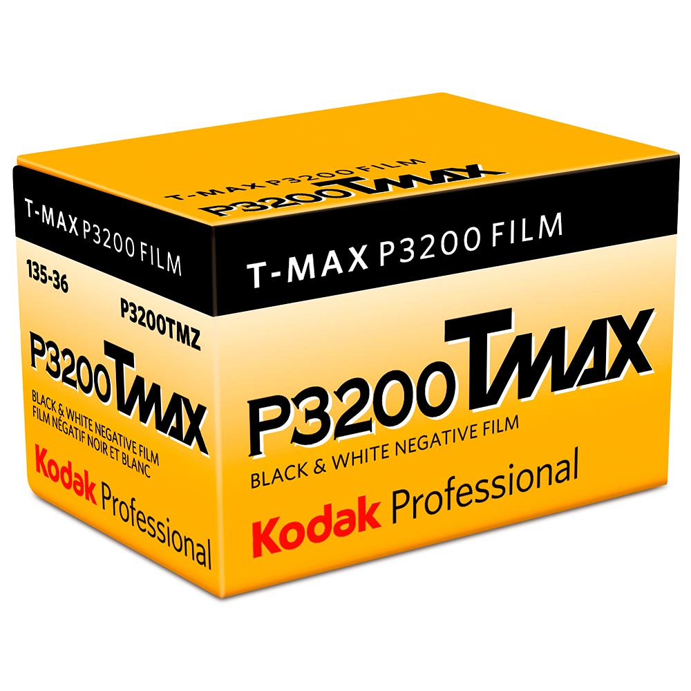 Kodak TMax P3200 TMZ Black & White 35mm Film – 36 Exposures