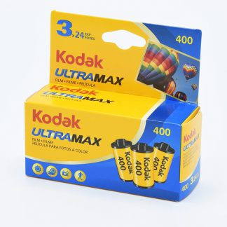 Kodak UltraMax 400 35mm film 3 Pack