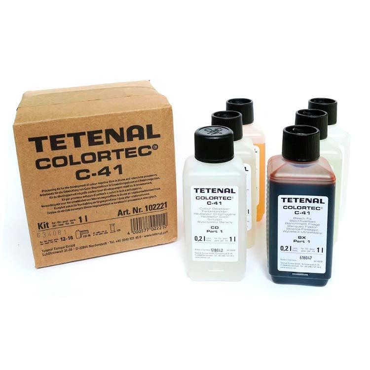 Tetenal COLORTEC C-41 Negative Rapid Kit – 1l for 12-16 films