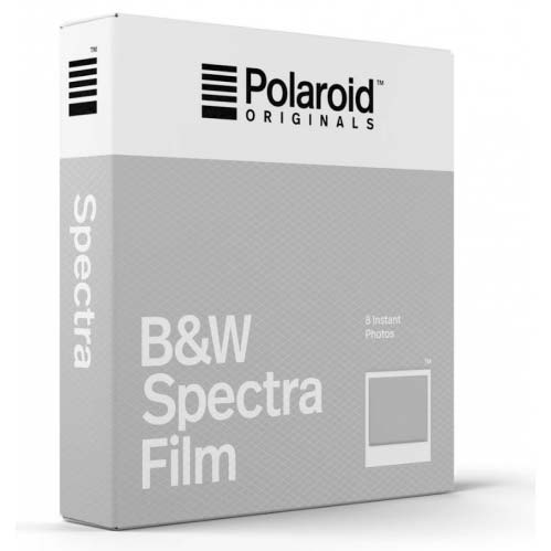 Polaroid Originals B&W Spectra Film