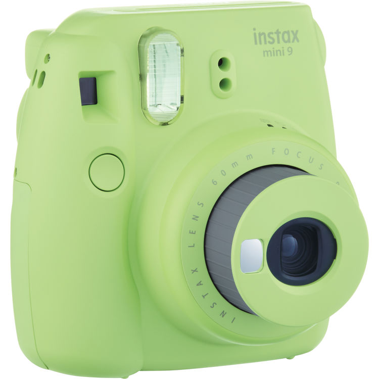 Fujifilm Instax Mini 9 Lime Green Camera – Factory Fresh!