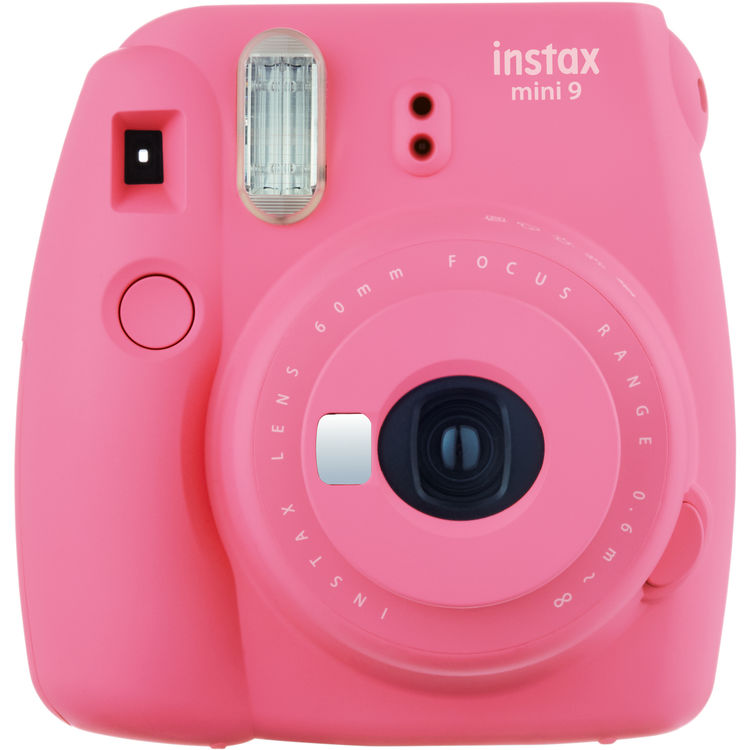 Fujifilm Instax Mini 9 Flamingo Pink Camera – Factory Fresh!