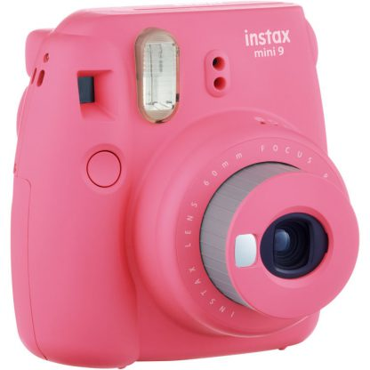 Fujifilm Instax Mini 9 Flamingo Pink Camera 3