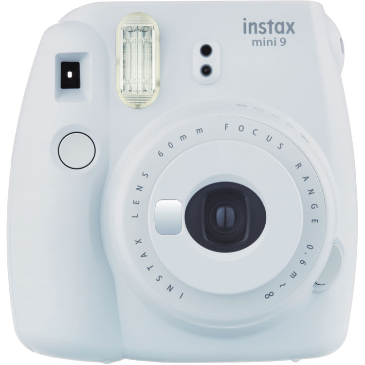 Fujifilm Instax Mini 9 Smokey White Camera – Factory Fresh!