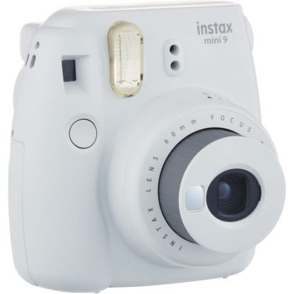 Fujifilm Instax Mini 9 Smokey White Camera 4
