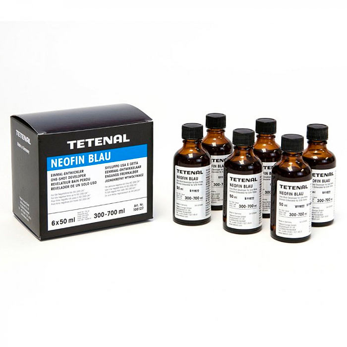 Tetenal NEOFIN BLAU Film Developer – 6 x 50ml