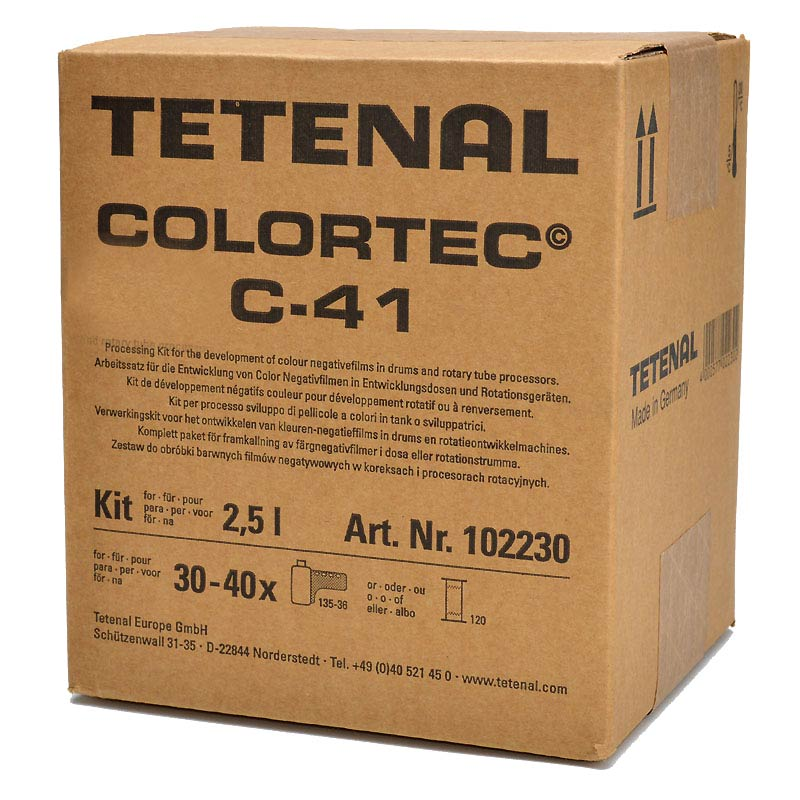 Tetenal COLORTEC C-41 Negative Rapid Kit – 2.5l for 30-40 films