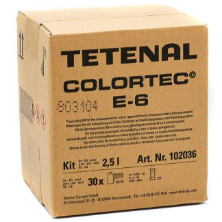 etenal Colortec 3-Bath E-6 Kit- 2.5l for 30 films