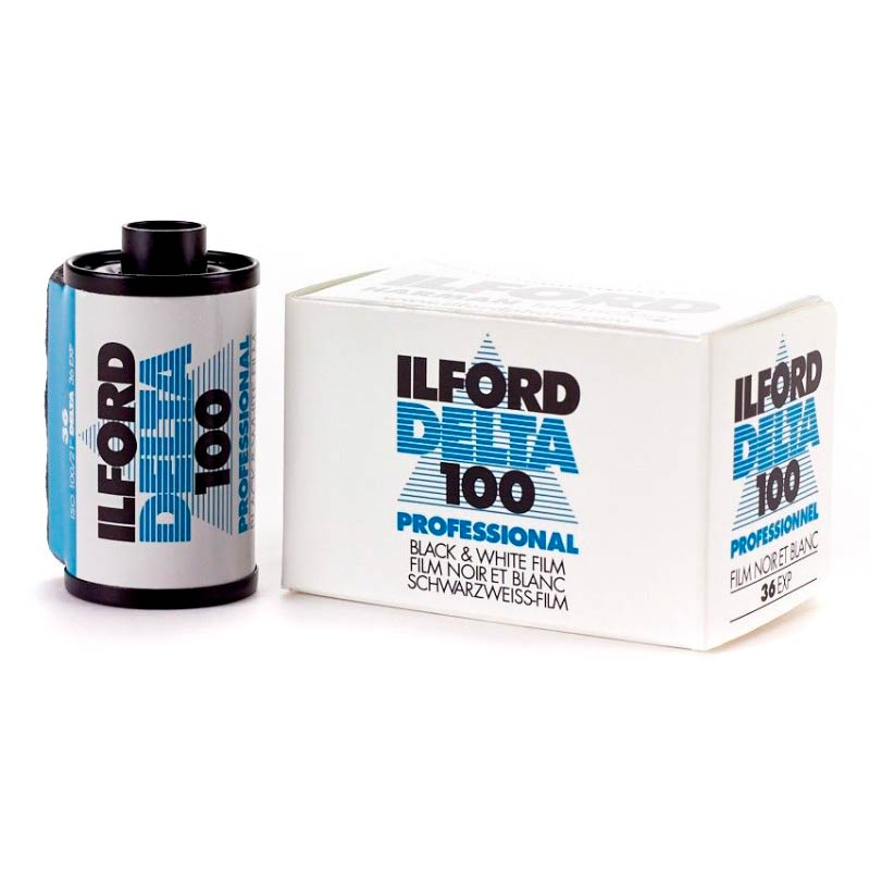 Ilford DELTA 100 Professional Black & White 35mm Film – 36 Exposures