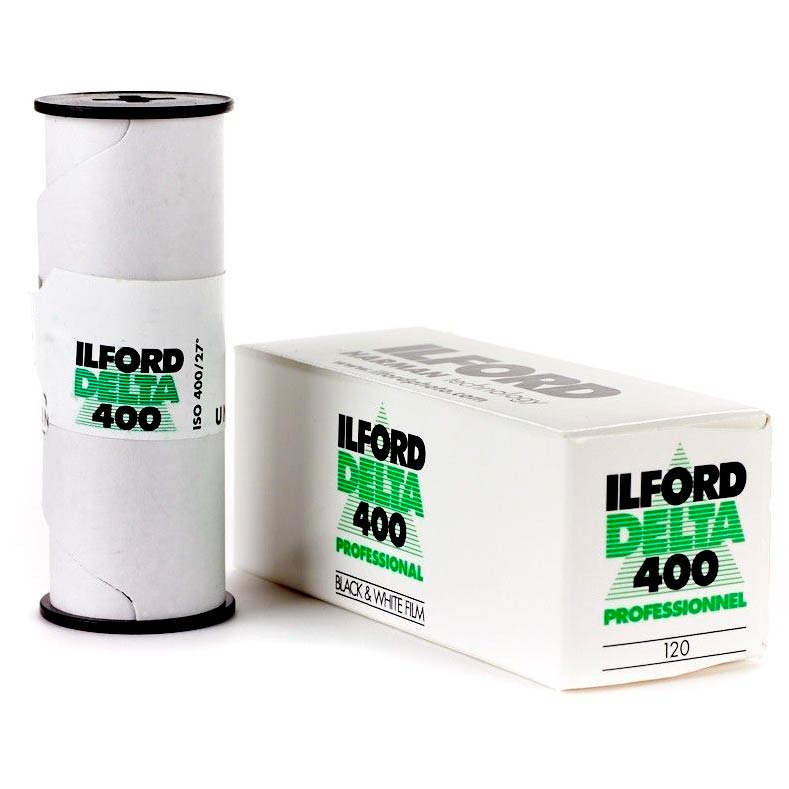 Ilford DELTA 400 Professional Black & White 120 Roll Film
