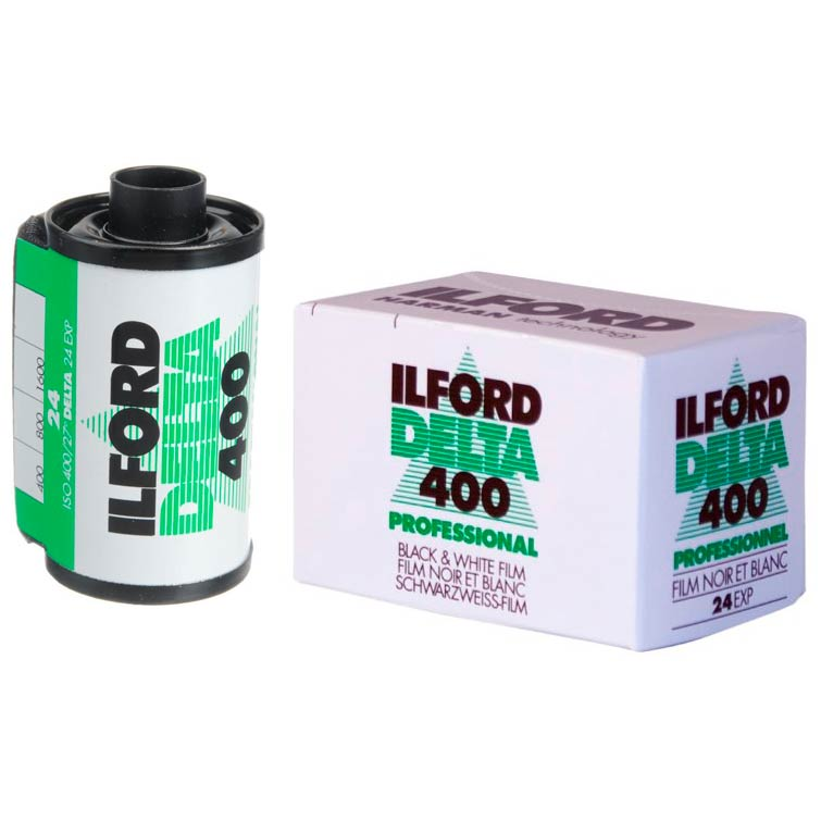 Ilford DELTA 400 Professional Black & White 35mm Film – 24 Exposures