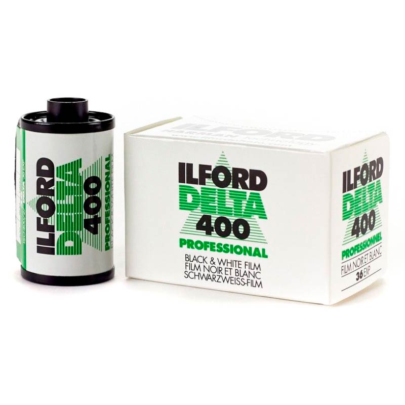Ilford DELTA 400 Professional Black & White 35mm Film – 36 Exposures
