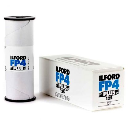 Ilford FP4 PLUS 120 film