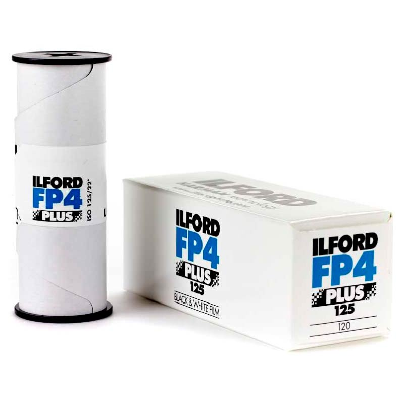 Ilford FP4 PLUS Black & White 120 Roll Film – ISO 125