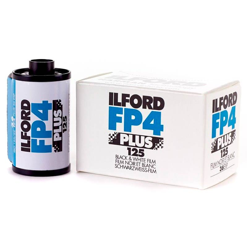 Ilford FP4 PLUS Black & White 35mm Film – ISO 125 – 36 Exposures