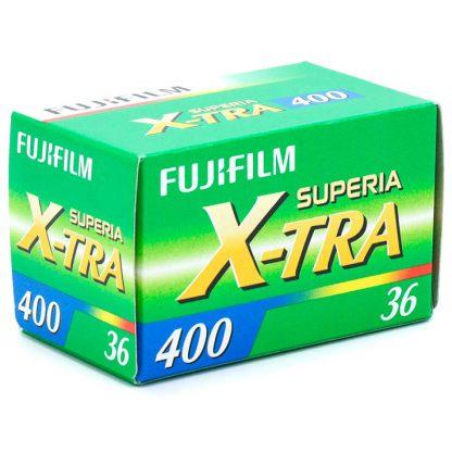 Fujifilm Superia X-tra 400 film