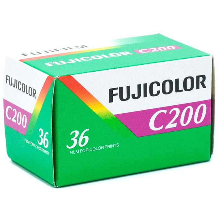 Fujicolor C200 Color 35mm Film – 36 Exposures