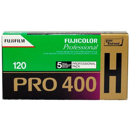 Fujicolor Pro 400H Color 120 Roll Film - 5 Pack