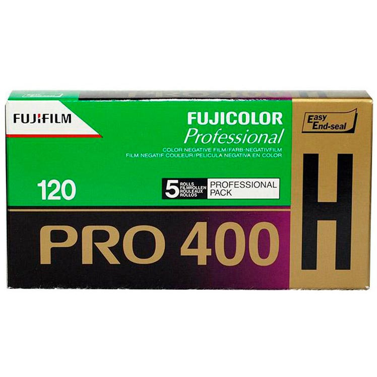 Fujicolor Pro 400H Color Print 120 Roll Film – 5 Pack