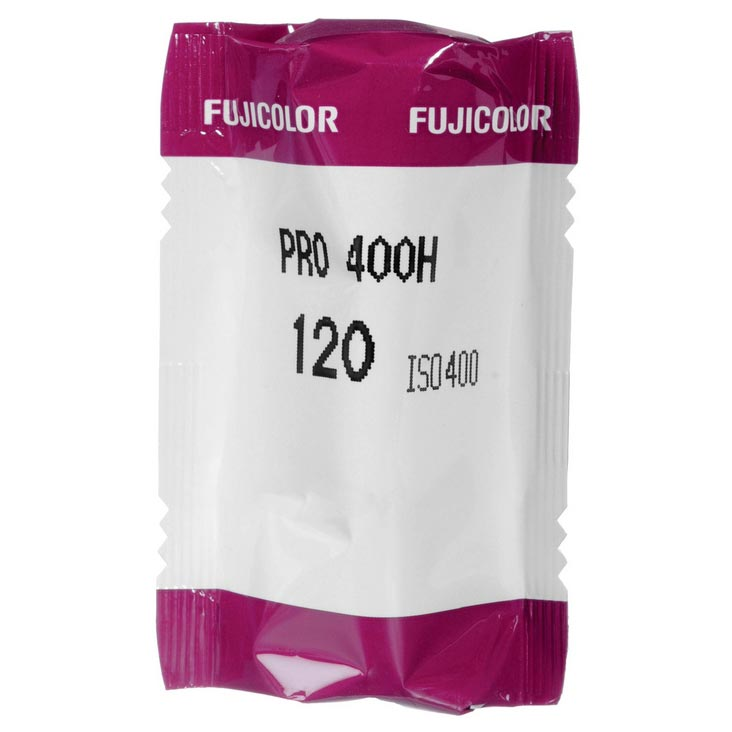 Fujicolor Pro 400H Color Print 120 Roll Film