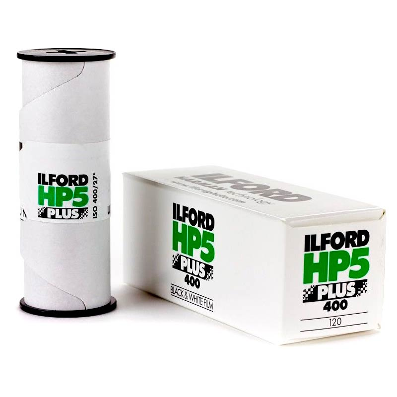 Ilford HP5 PLUS Black & White 120 Roll Film – ISO 400