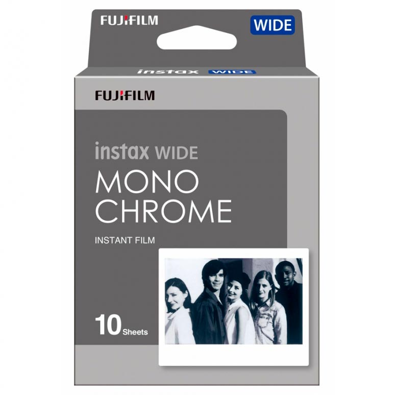 Fujifilm Instax Wide Monochrome Film – White Border