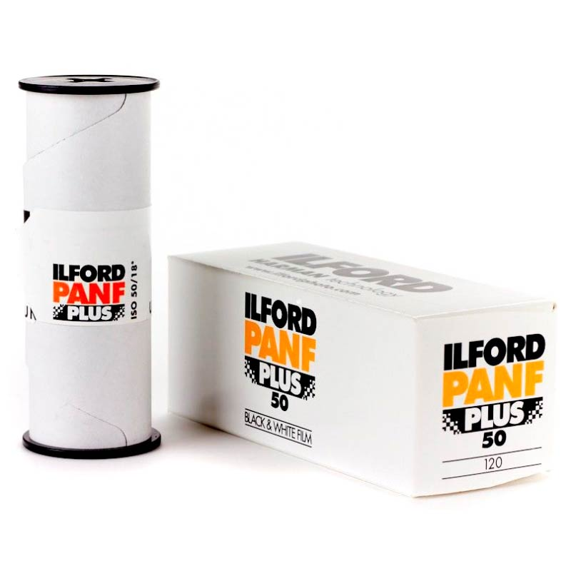 Ilford PAN F PLUS Black & White 120 Roll Film – ISO 50