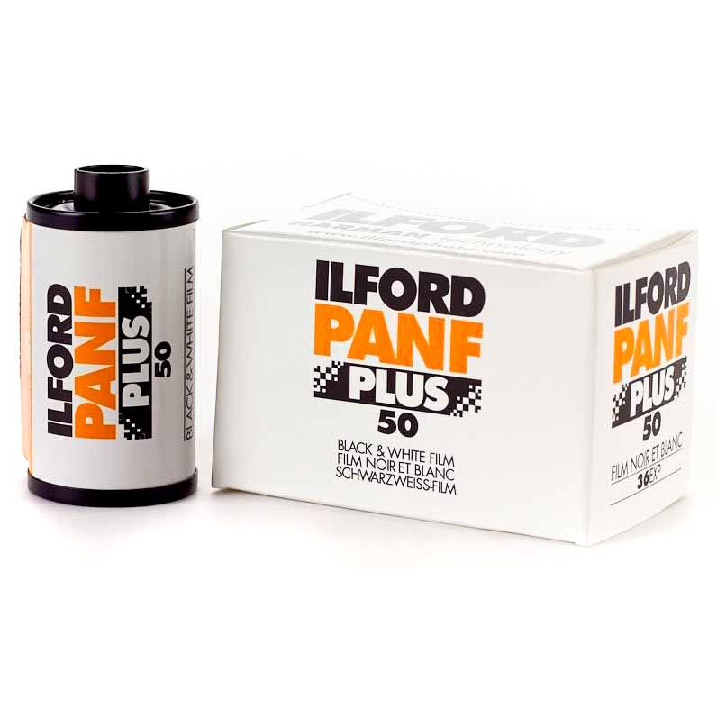Ilford PAN F PLUS Black & White 35mm Film – ISO 50 – 36 Exposures