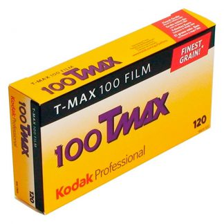 Kodak TMax 100 120 Roll Film 5 Pack