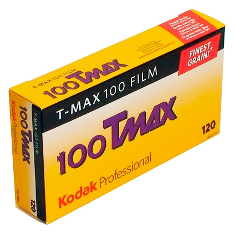 Kodak TMax 100 TMX Black & White 120 Roll Film – 5 Pack