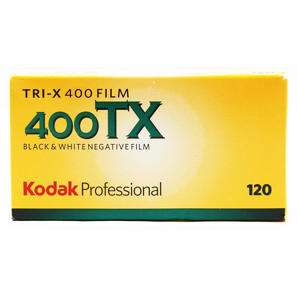 Kodak Tri-X 400 TX Black & White 120 Roll Film – 5 Pack