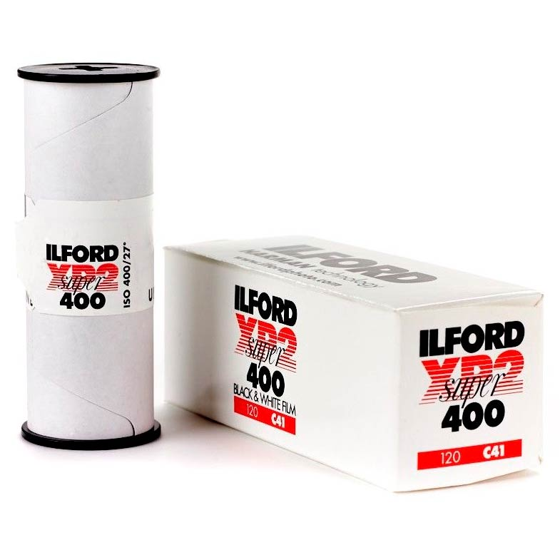 Ilford XP2 SUPER Black & White 120 Roll Film – ISO 400