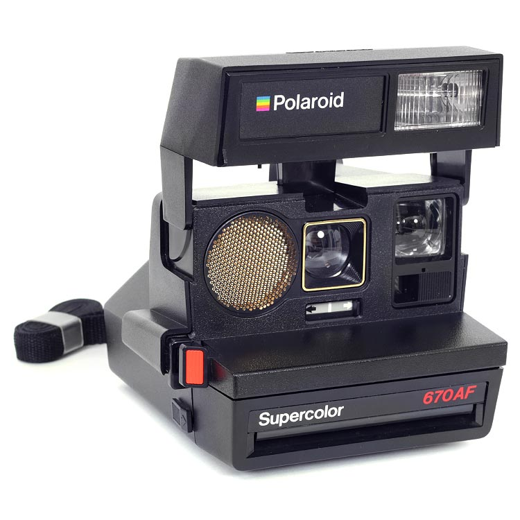 Polaroid Supercolor 670AF Autofocus Camera – Tested