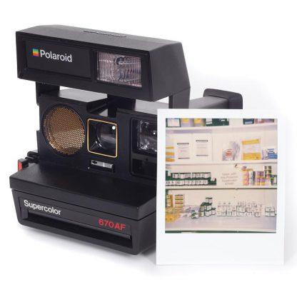 Polaroid 670AF Autofocus Camera 5