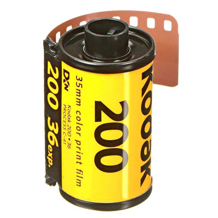 Kodak Gold 200 Color Print 35mm Film – 36 Exposures