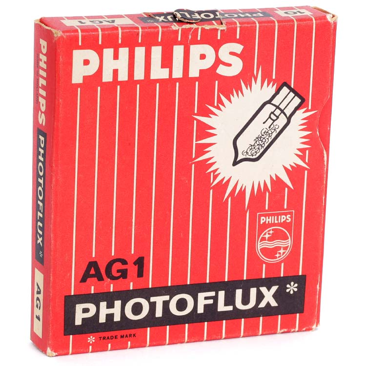 Philips Photoflux AG1 Flashbulbs – 10 Pack