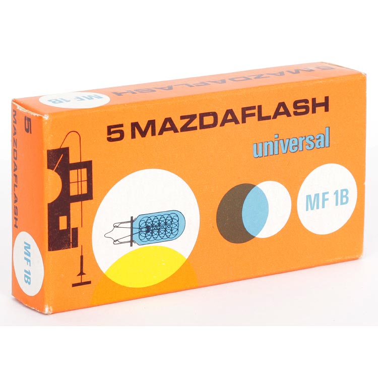Mazdaflash Universal MF 1B Flashbulbs – 5 Pack