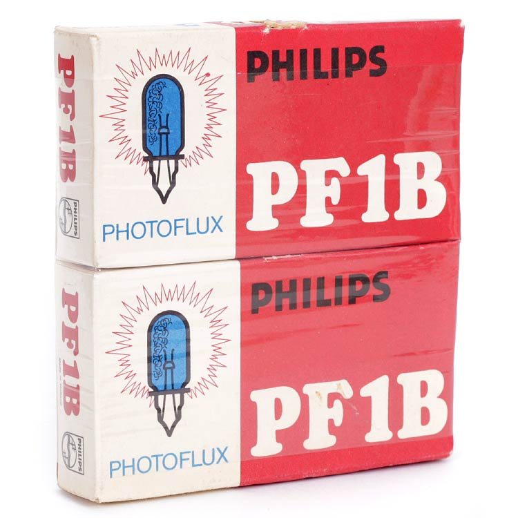 Philips Photoflux PF1B Flashbulbs – 2 x 5 Pack