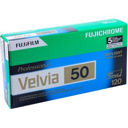 FujiFilm FujiChrome Velvia 50 120 roll film