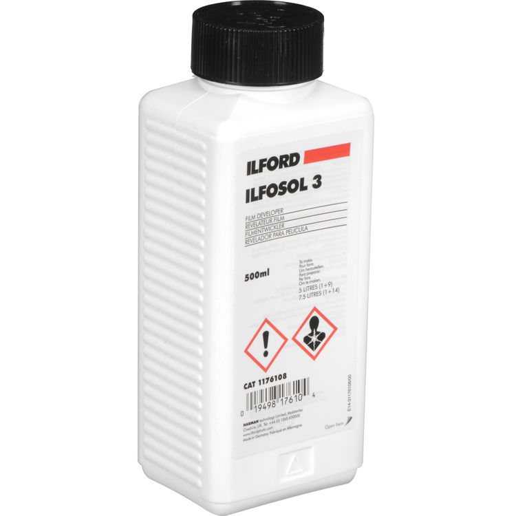 Ilford ILFOSOL 3 Film Developer – 500 ml Concentrate