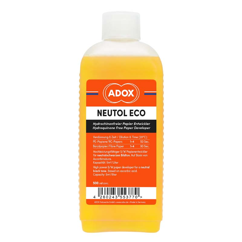 Adox NEUTOL ECO Paper Developer – No Toxic Chemicals – 500 ml Concentrate