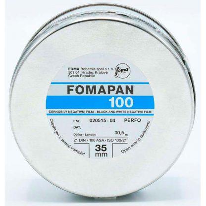 Fomapan Classic 100 iso 30.5m bulk film