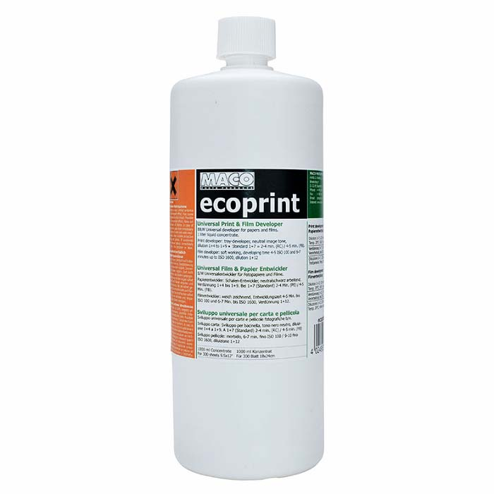 MACO Ecoprint Universal Developer – 1 Liter Concentrate