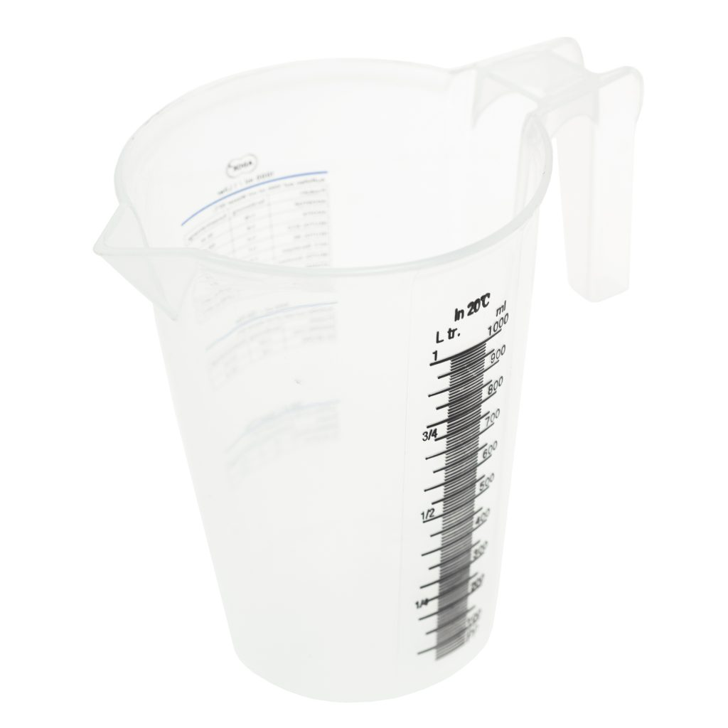 1000ml Adox Graduated Measuring/Mixing Beaker – Laboratory Quality