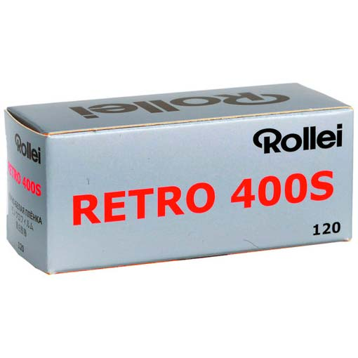 Rollei Retro 400S Black & White 120 Rollfilm