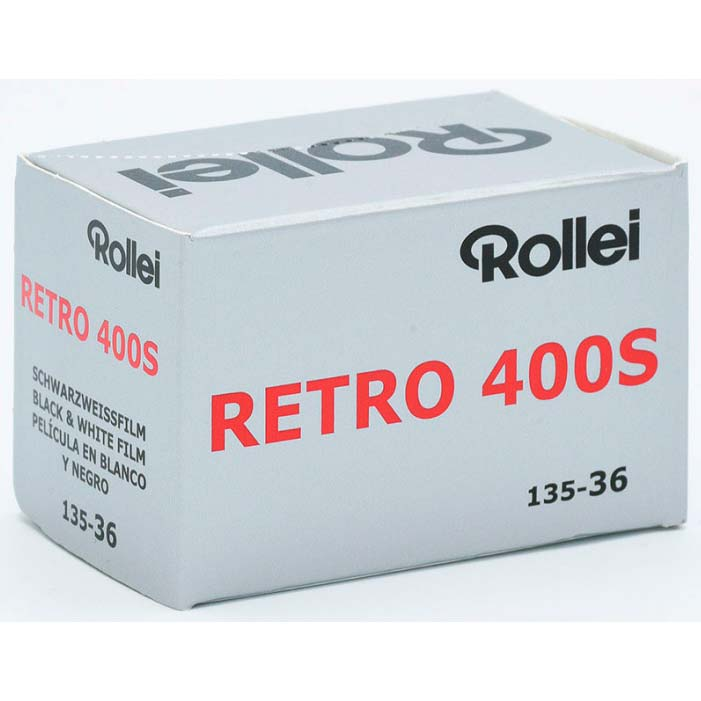 Rollei Retro 400S Black & White Film – 35mm Format – 36 Exposure