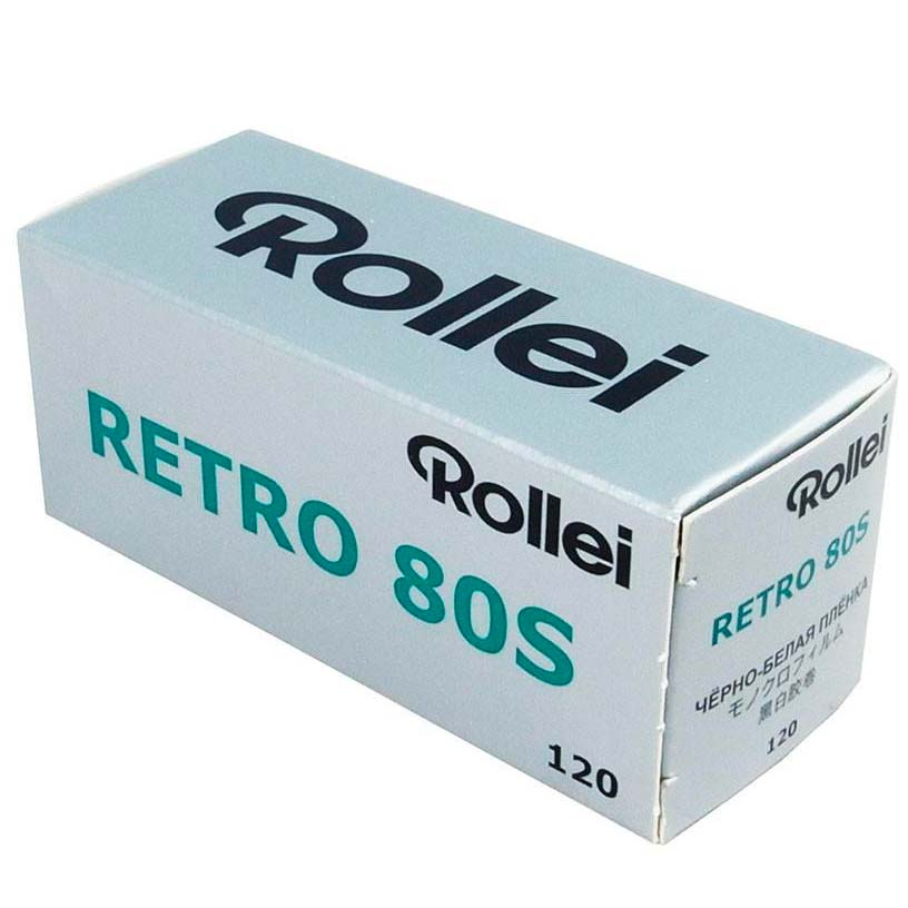Rollei Retro 80S Black & White 120 Rollfilm