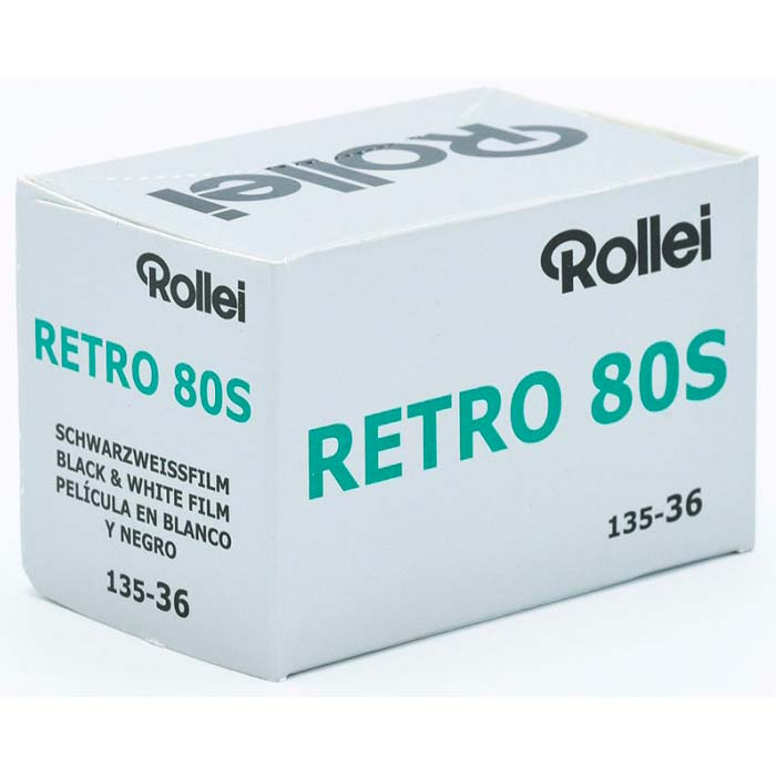 Rollei Retro 80S Black & White Film – 35mm Format – 36 Exposure