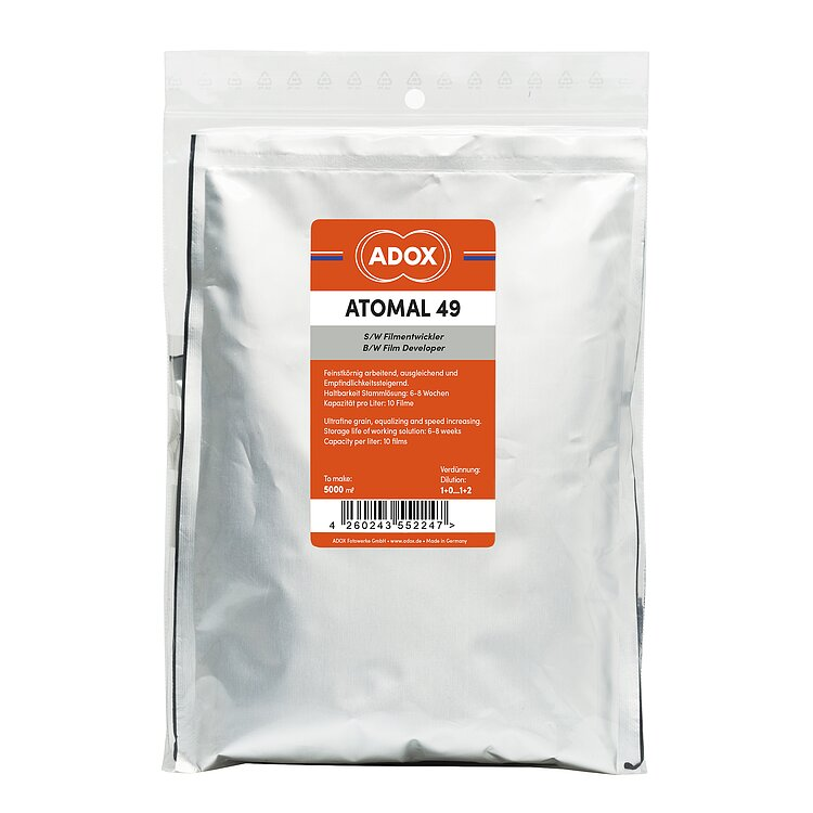 Adox ATOMAL 49 Film Developer – Powder to make 5 Liters