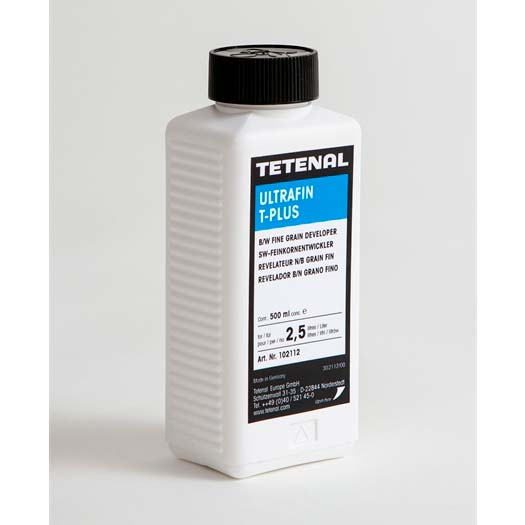 Tetenal Ultrafin T-Plus B&W Film Developer – 500ml Concentrate for 30 x 35mm Films